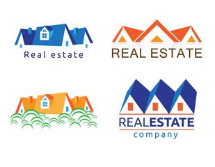 Real estate illustration.