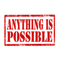 Anything Is Possible-stamp