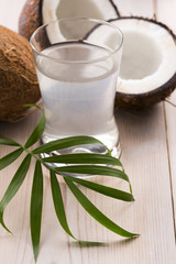 Coconut and coconut water