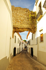 Old Street of Serpa village, Portugal