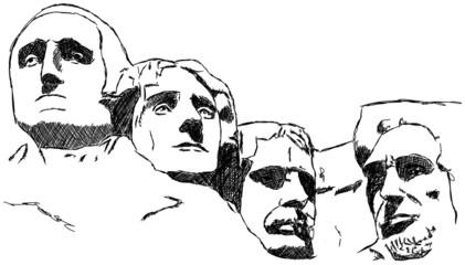 Mount Rushmore Präsidenten USA Berg Berge