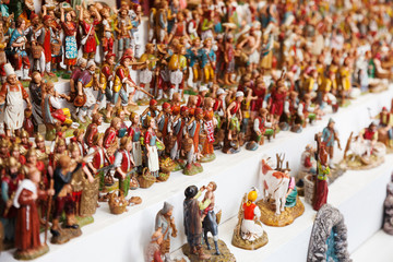 Figures for creating Christmas scenes for sale
