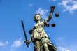 Justitia, a monument in Frankfurt, Germany - 65049885