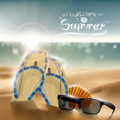 summer design  Vector eps10