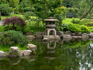 Japanese Garden, Holland Park, London, England