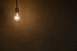 Hanging Lightbulb Background