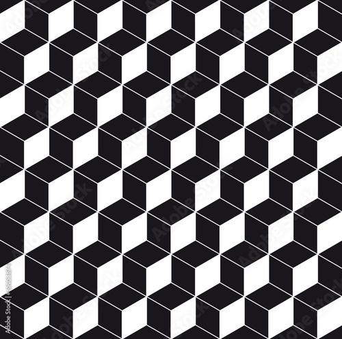 Pattern cube background - 65053874