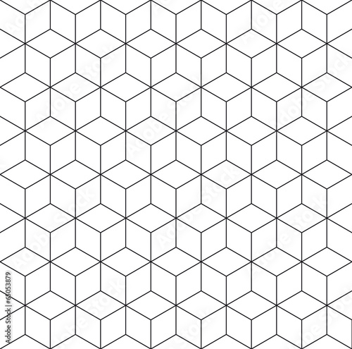 Pattern cube background - 65053879