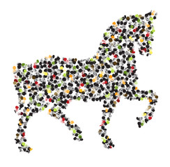 Image of an horse design