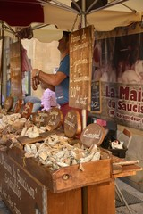 The market of sarlat