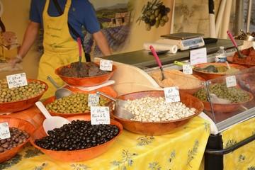 The market of sarlat