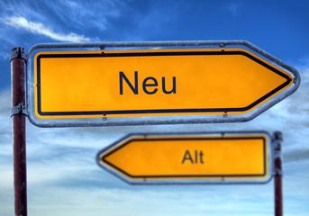 Strassenschild 1 - Neu