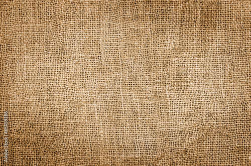 Foto op Canvas Stof Burlap Texture