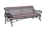Bench for park.