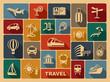 Travel icons