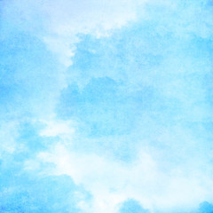 Cyan cloud background texture