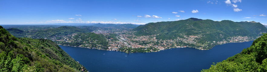 Lago di Como - panoramica