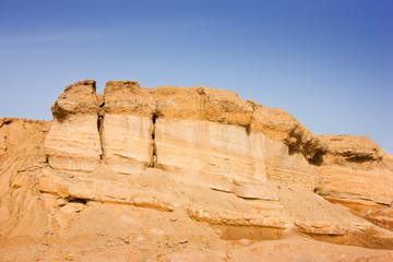 Landscape, limestone precipice
