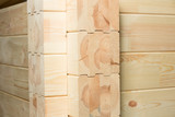 glued pine timber construction poster