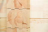 glued timber construction elements poster