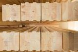 glued timber beams poster