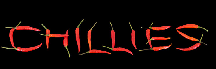 Chillies spelt by Chillies
