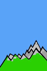 farbige - Bergwelt...