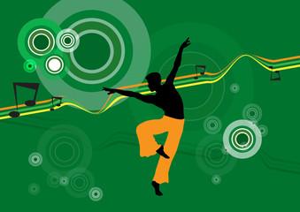 Ballet. Vector