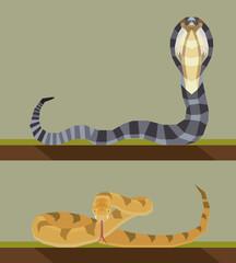 Snake - flat design