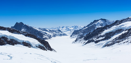 View from Jungfraujoch