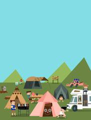 Mountain camp B