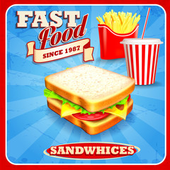 sandwhices for fast food