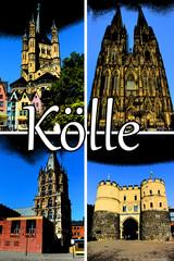 Köln Comic Collage