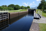 Neptune's Staircase on the Caledonian Canal