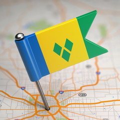 Saint Vincent and the Grenadines Small Flag.