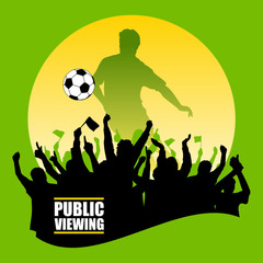 Soccer - Public Viewing
