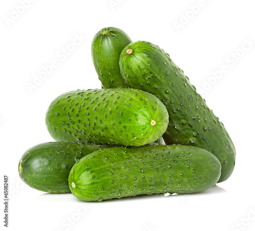 Cucumbers isolated - 65082487