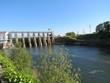 Périgord - Barrage ds Tuilières sur la Dordogne
