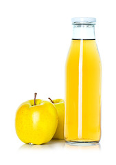 bottle of apple juice