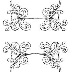 arabesques, décor rétro