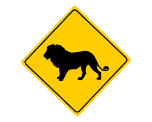 Achtung Löwe