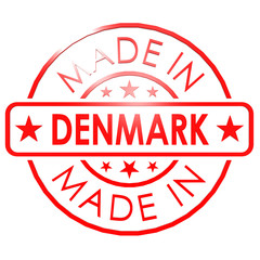 Made in Denmark red seal