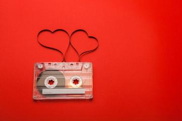 Vintage audio cassette