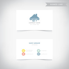Business card template set1, vector eps10