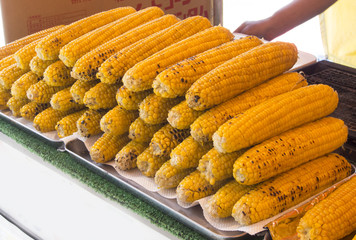 corn that was baked a lot