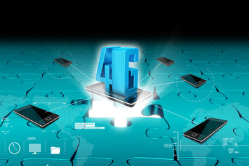 Concept of 4G technology