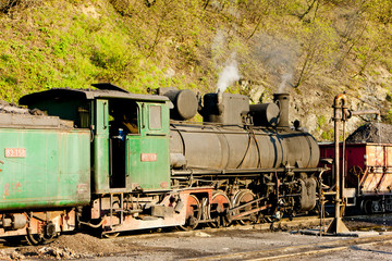 steam locomotive, delivery point in Oskova, Bosnia and Hercegovi