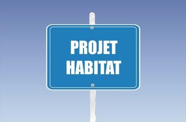 panneau projet habitat