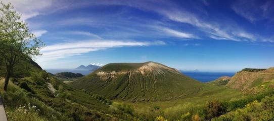 Vulcano. Cratere de La Fossa