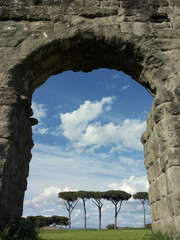 Park of Aqueducts in Rome